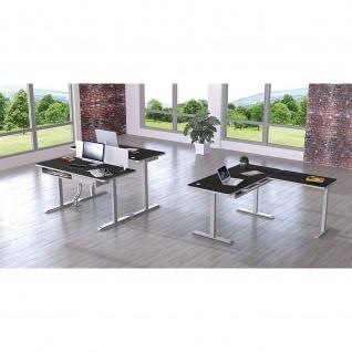 Kerkmann Schreibtisch Sitz-Stehtisch Move 4 Premium 160x80x62-127cm elektr. höhenverstellbar mit Memoryfunktion