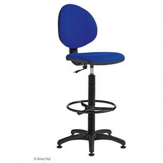 Arbeitsstuhl Werkstuhl Stuhl SmartRB mit Fußring höhenverstellbar