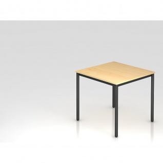 Konferenztisch Meeting D Modell DR 08 Gestell schwarz