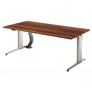 Büro Schreibtisch Stehtisch höhenverstellbar 180x80 cm Modell XE19