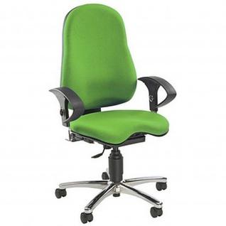 Bürodrehstuhl Drehstuhl Sitness 10 grün inkl.Armlehnen