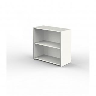 Kerkmann Sideboard 4431 Form 4, 2 Ordnerhöhen, weiß 80 x 38 x 76 cm