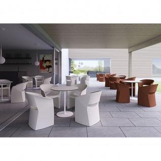 Kastel Design Sessel KUARK mit abnehmbaren Sitzkissen Kunstleder