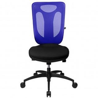 Topstar Bürodrehstuhl Net Pro 100 Netzrücken blau