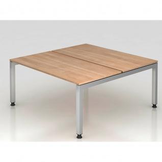 Büro Schreibtisch 160 x162, 5 cm Modell JD16 stufenlos höheneinstellbar