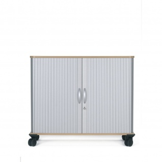 Gera QuerrollladenschrankRollladenschrank Aktenschrank 1, 5 OH inkl.Rollen B:800mm