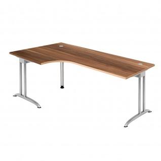 Büro Schreibtisch 200x120 cm Winkelform Modell BS82