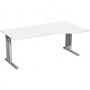 Gera PC-Schreibtisch Bürotisch C Fuß Pro rechts 1800x800/1000x720mm