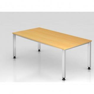 Büro Schreibtisch 200 x 100 cm Modell QS2E