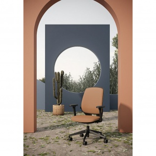 Kastel Bürodrehstuhl Drehstuhl Key Smart Kunstleder Sitz und Rücken gepolstert