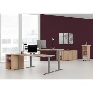 Elektro Smart Schreibtisch elektrisch höhenverstellbar 1800x800x700-1200 cm diverse Dekore