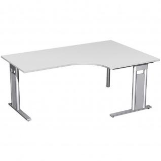Gera PC-Schreibtisch Bürotisch C Fuß Pro rechts 800/1800x800/1200x720mm