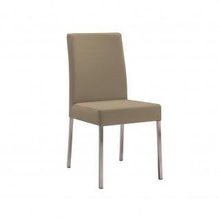 Design Stuhl Esszimmerstuhl Bruck 1 Edelstahl