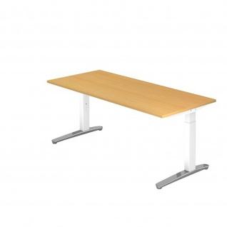 Büro Schreibtisch Stehtisch höhenverstellbar 180x80 cm Modell XB19