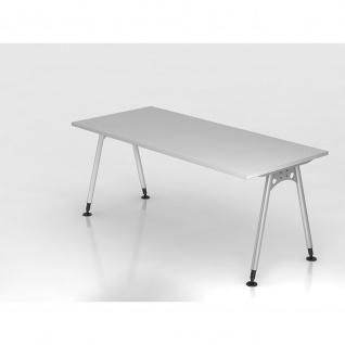 Büro Schreibtisch 180x80 cm Modell AS19 stufenlos höheneinstellbar