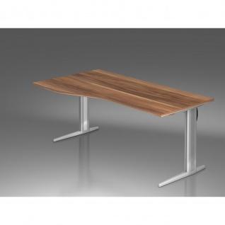 Büro Schreibtisch 180x80/100 cm Freiform Modell XS18