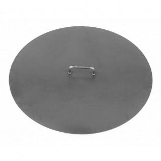 Deckel für Feuerschale Gr.1 schwarz lackiert verschiedene Größen