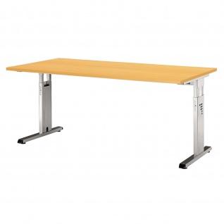 Büro Schreibtisch 160x80 cm Modell OS16 höheneinstellbar