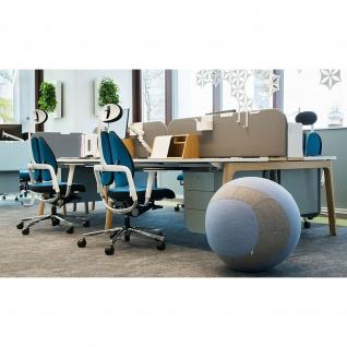 Moderner ergonomischer Sitzball Hocker Dotto 55 cm