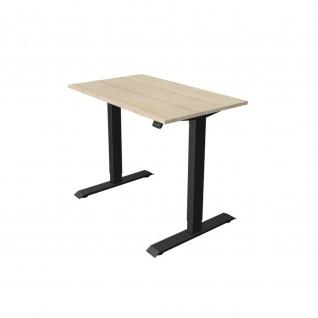 Kerkmann Schreibtisch Sitz- /Stehtisch Move 1 anthrazit 100x60x74-123 cm in verschiedenen Farben