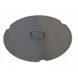Deckel für Feuerschale Pan 33 und 38 schwarz lackiert verschiedene Größen