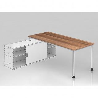 Büro Schreibtisch zur Auflage auf Sideboard 180x80 cm Modell HSE19