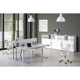 Kerkmann Schreibtisch Sitz-Stehtisch Move 3 Premium 180x80x72-121cm elektr. höhenverstellbar mit Memoryfunktion