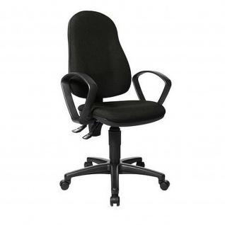Bürodrehstuhl Point 60 schwarz