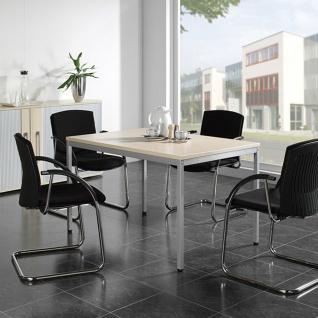 Gera Schreibtisch Bürotisch 4 Fuß Eco 1800x800x720mm versch. Dekore