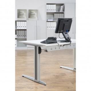 Büro Schreibtisch 120x80 cm Modell XS12