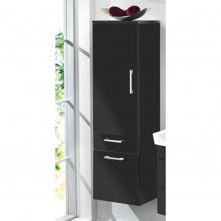 Badmöbel Badezimmer Gästebad Hochschrank Rima, gerade Hochglanz MDF-Fronten