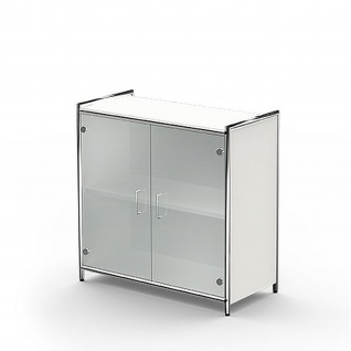 Sideboard ARTLINE 2 OH 80x38x78 cm Glas