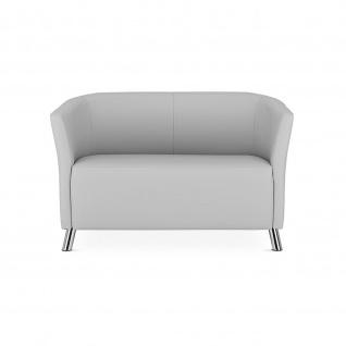 Lounger Sessel Columbia Duo 2-sitzer Sofa Kunstleder vollgepolstert