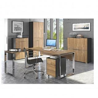 Maja Schreibtisch Winkelschreibtisch Yolo 15235570 verschiedene Farben Maße 184, 0x77, 2x158, 5 cm