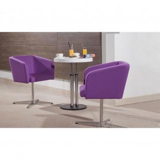 Lounge- Konferenz- Besucher-Sessel Hello 1S Cross CR chrom Fußkreuz Kunstleder