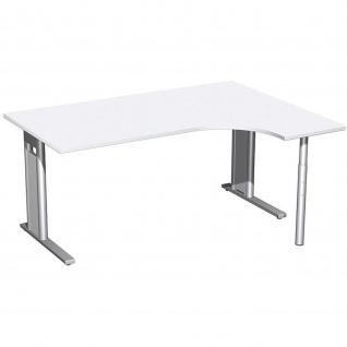 Gera PC-Schreibtisch Bürotisch C Fuß Pro rechts 1600x800/1200x720mm