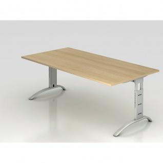 Büro Schreibtisch 200x100 cm Modell FS2E höheneinstellbar