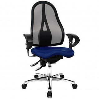 Topstar Bürodrehstuhl Sitness 15, royalblau inkl. Armlehnen