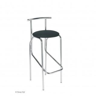 Design Tresenhocker Jola Hocker 78 Plus CR Sitzhöhe 67, 5 cm verchromt Kunstleder