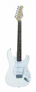 DIMAVERY ST-203 E-Gitarre, weiß
