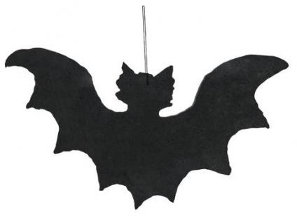 EUROPALMS Silhouette Fledermaus, 32x60cm