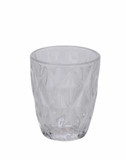 Trinkglas, klar, ?8 cm / Höhe: 10 cm
