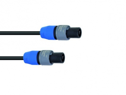 SOMMER CABLE Lautsprecherkabel Speakon 2x1, 5 2, 5m sw