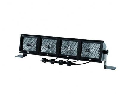 EUROLITE Fluter-Rampe 4 x R7s mit Filterrahmen