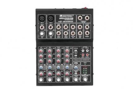 OMNITRONIC MRS-1002USB Recording-Mixer