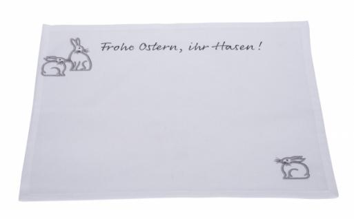Stoffplatzset, Frohe Ostern