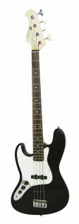 DIMAVERY JB-302 E-Bass LH, schwarz