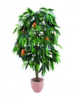 EUROPALMS Mangobaum mit Früchten, Kunstpflanze, 165cm