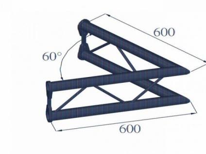 Alutruss Bisystem Pv-20 2-weg 60° Vertikal - Vorschau 2