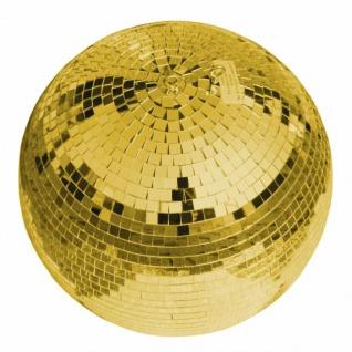 EUROLITE Spiegelkugel 30cm gold